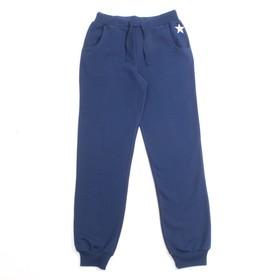 Брюки для девочки, рост 152 см, цвет тёмно-синий CWJ 7618 (162) Ош
