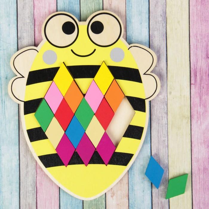 Мозаика-головоломка «Пчёлка» - фото 105587381