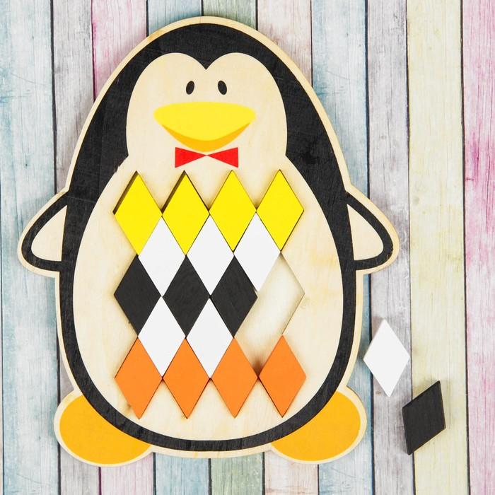 Мозаика-головоломка «Пингвин»