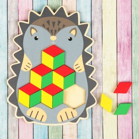 Мозаика-головоломка «Ёжик»