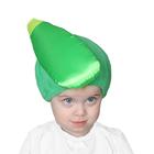 "Карнавальная шапочка ""Кабачок"", обхват головы 50-54 см"