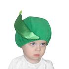 """Карнавальная шапочка """"Фасоль"""", обхват головы 50-54 см"""
