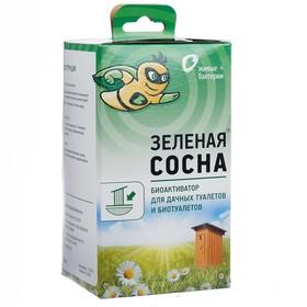 Биоактиватор для дачных туалетов и биотуалетов Зелёная сосна, 300 гр,
