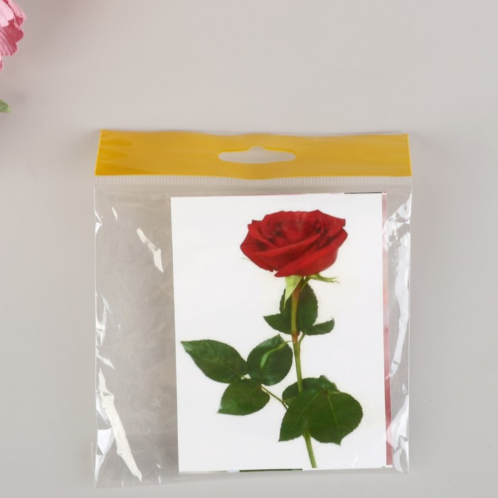 """Форма для вырубки (каттер) """"Роза"""" набор 13 деталей, (К-0004)"""