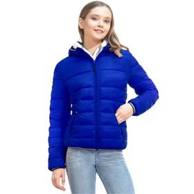 Куртка женская, размер 48, цвет синий