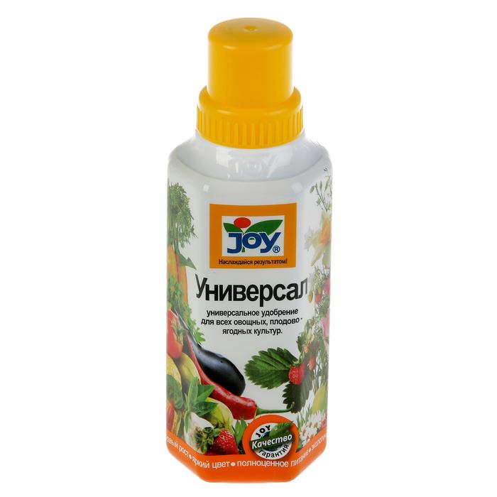 Жидкое удобрение Универсал для всех овощных, плодово-ягодных культур JOY, 500  мл
