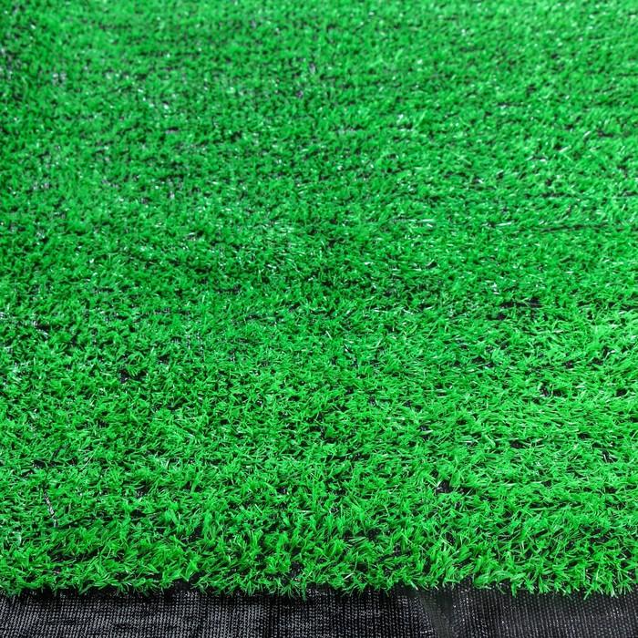 Газон искусственный, 0,01 × 2 × 10 м, светло-зелёный