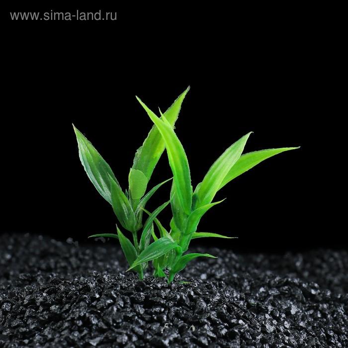 Растение искусственное аквариумное малое, 9 см