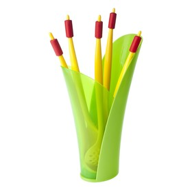 Кухонный набор CACTUS: вилка, ложка, шумовка, половник, ложка для спагетти