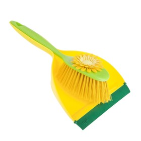 Набор для уборки Flower powe: совок + щёткаr, цвет МИКС