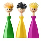 Щётка для посуды Dolls, цвет МИКС