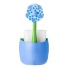 Щётка для посуды + губка на подставке Lolaflor
