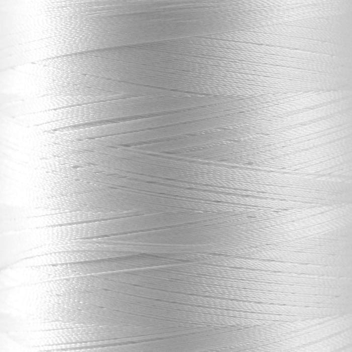 Нитки для вышивания, №130, 5000 м, цвет белый №1301 - фото 1120790