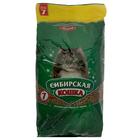 """Наполнитель древесный Сибирская кошка """"Лесной"""" для кошек, 7л"""