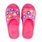 Тапочки женские А-70 В22-008-07, цвет розовый, размер 38/39