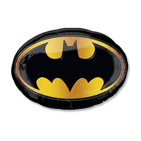 """Шар фольгированный 27"""" «Бэтмен эмблема»"""