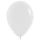 """Шар латексный 14"""", пастель, набор 50 шт., белый - фото 308469143"""