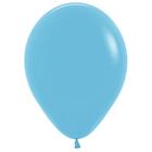 """Шар латексный 14"""", пастель, набор 50 шт., Light Blue - фото 461786"""