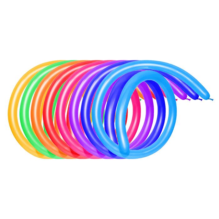 Шар для моделирования 350-2, набор 50 шт., цвета МИКС