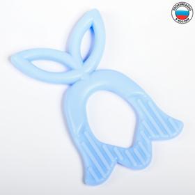 Прорезыватель силиконовый «Колокольчик», цвета МИКС