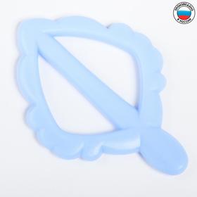 Прорезыватель силиконовый «Листочек»