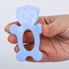 Прорезыватель зубной силиконовый «Мишка»