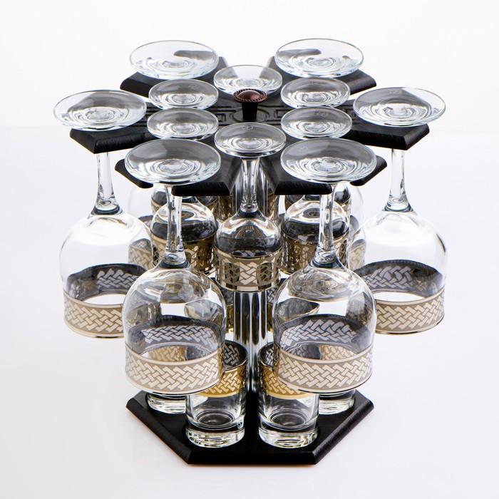 Мини-бар 18 предметов вино Карусель Скандинавия, темный 240/55/50 мл