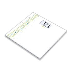 Весы напольные Beurer GS201, электронные, до 150 кг, белый