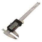 Штангенциркуль FIT, метал., нерж., с электронным отсчетом, 150 мм/ 0,01 мм