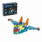 Светящийся конструктор Crystaland «Космический истребитель», 4 в 1, 48 деталей