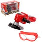 """Angle grinder """"whack"""", with goggles, battery powered"""