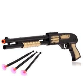 Ружьё «Меткий сержант», стреляет присосками, цвета МИКС