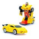 Машина «Автобот», трансформируется, световые и звуковые эффекты, работает от батареек - фото 1013071