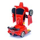 Машина «Автобот», трансформируется, световые и звуковые эффекты, работает от батареек - фото 1013074