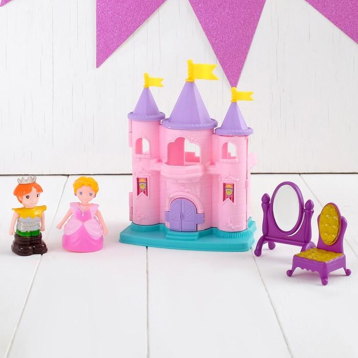"""Замок для кукол """"Дворец принцессы"""" с аксессуарами"""