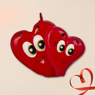 "Candle tin ""Two hearts"", 5 cm"