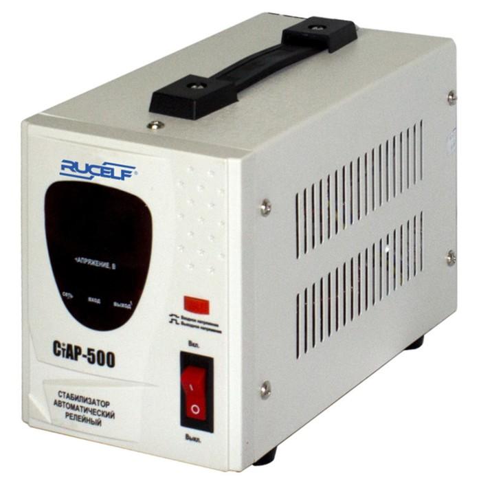 Стабилизатор напряжения СтАР- 500, релейный, точность +/- 6%, 500 ВА