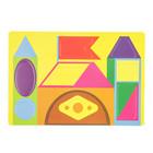 Мягкий конструктор «Цветные формы»