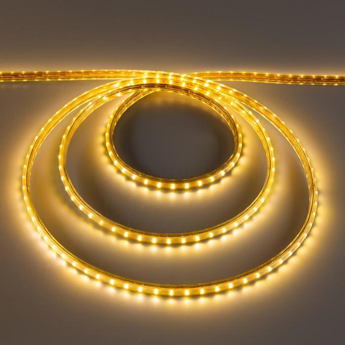 Светодиодная лента 220В,SMD3014, 100 м, IP68, 108 LED, 7,2 Вт/м, 13-15 Лм/LED, AC, Т.БЕЛЫЙ