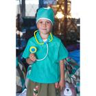 Набор доктора №4 «Лучший врач» с халатом и шапочкой, 9 предметов - фото 107067595