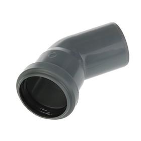 Отвод канализационный SK-plast, 50 мм, 45° Ош