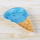 """Блюдо """"Мороженое"""" 19,5х14х5 см, цвета МИКС"""