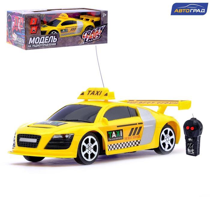 Машина радиоуправляемая «Гонка», работает от батареек, цвета МИКС - фото 105648415
