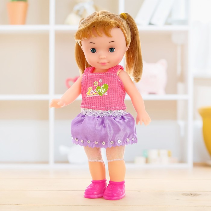 Кукла классическая «Инга», в костюмчике