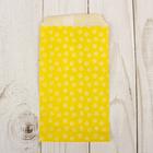 """Пакет фасовочный """"Цветочки на желтом"""", 8 х 15 см"""