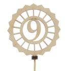 Топпер «9», вид 2, натуральный