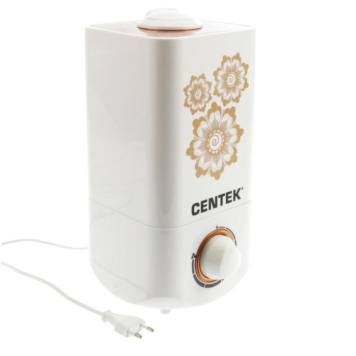Увлажнитель воздуха Centek СТ-5102, ультразвуковой, 25 Вт, 3.8 л, белый