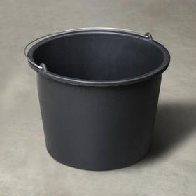 Ведро строительное круглое, Flexible, 16 л, резинопластик