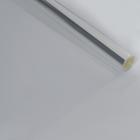 Пленка для цветов, прозрачная, 900 мм x 25 м, 800 гр, 40 мкм