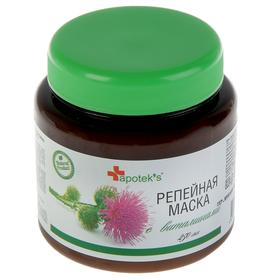 Маска для волос Apotek`s Репейная с витаминами, 250мл Ош